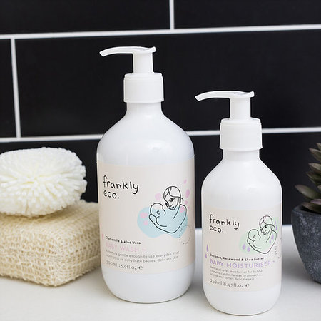 KIDS frankly eco. Baby Duo Bath Time