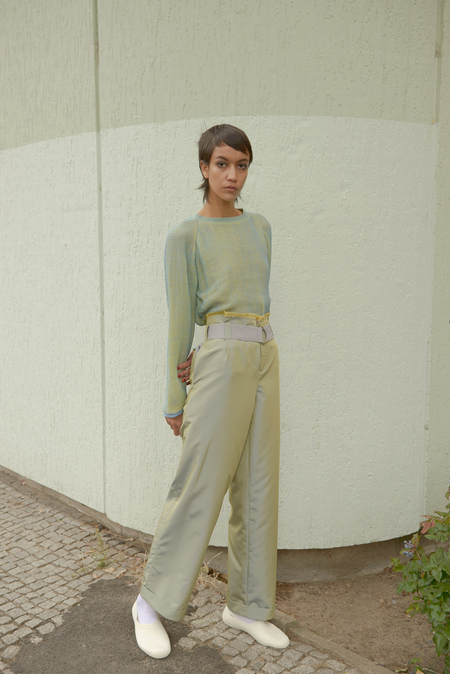 Halo Labels OPALESCENT pants - MOSS