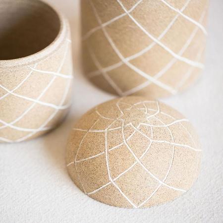 Workaday Handmade Sand Container