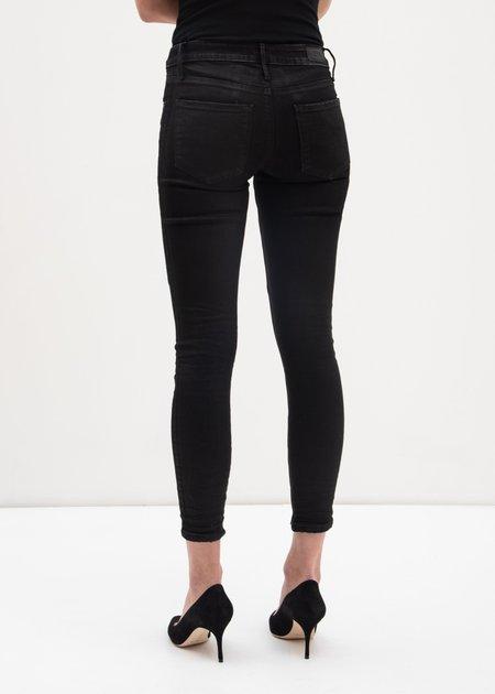 RtA Glaze Prince Crop Skinny Jeans - Black