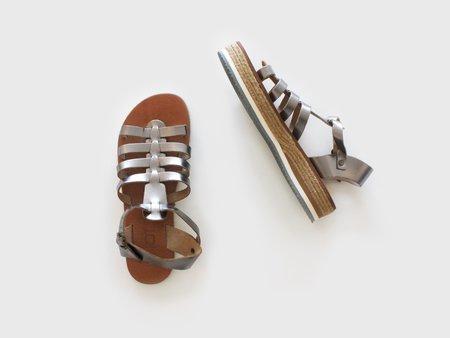 ĒSIOT Gladiator Sandals - Silver
