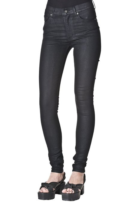 Cheap Monday Second Skin - Black Waxed