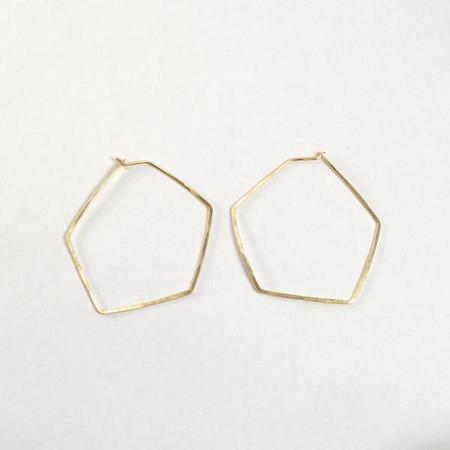 Mesa Geo Hoop Earrings