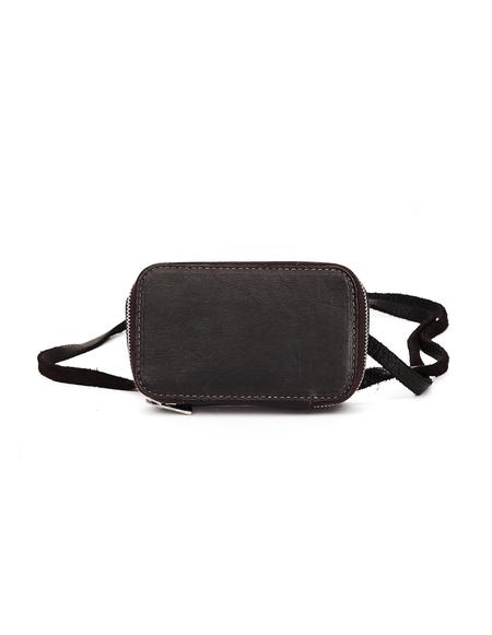 Guidi Leather Mini Bag - Brown