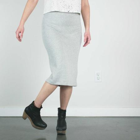 Pillar Murex Tube Skirt - Grey