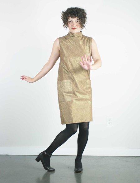 Jennifer Glasgow Nico Dress - Golden