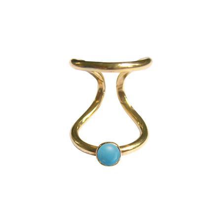 AOKO SU Snake Ring - Gold