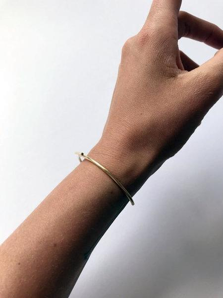 Cosmic Twin Tuff Cuff Bracelet - Brass