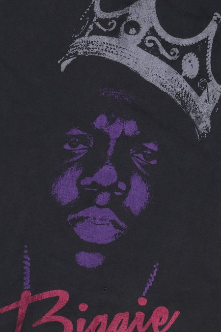Unisex MadeWorn Notorious Big Crown Portrait T-Shirt