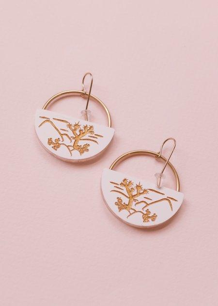 Woll Joshua Tree Landscpae earring