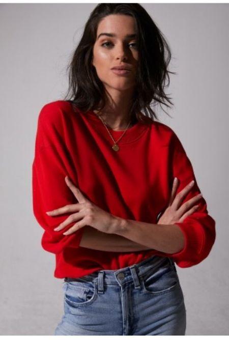 McGuire Sorry Charlie Sweatshirt - Red Hot