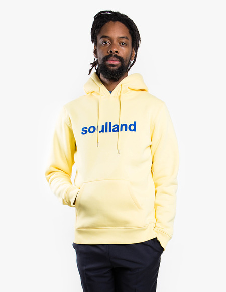 Soulland Logic Googie Hoodie - Yellow