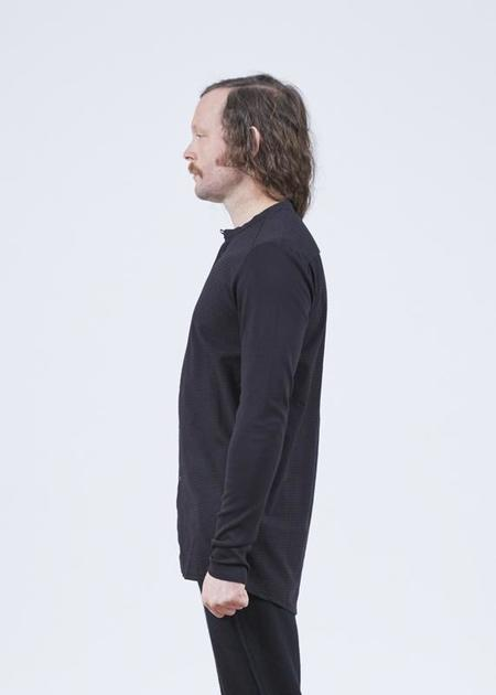 Hannes Roether Residency Flink Collarless Shirt