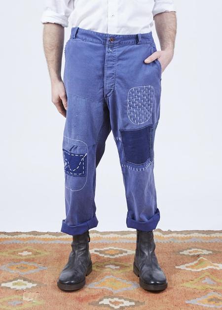 Atelier & Repairs Residency The Factory Pants - Blue