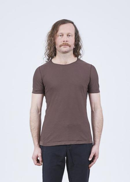 Hannes Roether Residency Yamaha Short Sleeve Tee - Brown