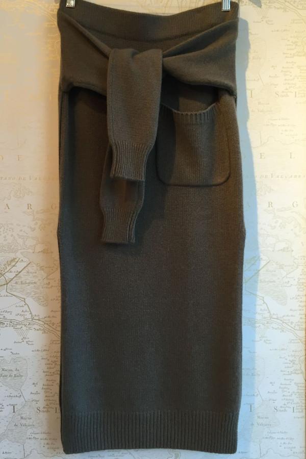 Joseph Cashmere luxe knot skirt
