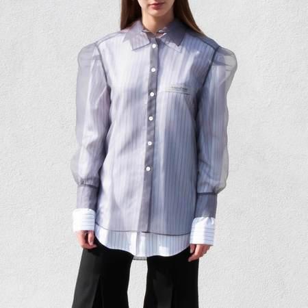 KIMHEKIM Guifei Organza Shirt - GREY
