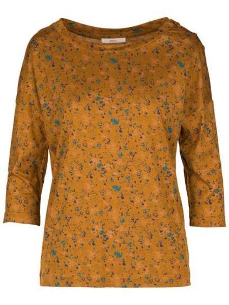 Sessun Gold Bloom Devon T-shirt - Gold Bloom