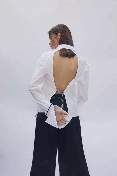 Anna Quan Forte Shirt - White