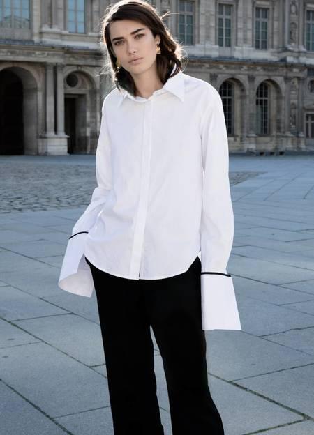 Anna Quan Anne Shirt - WHITE