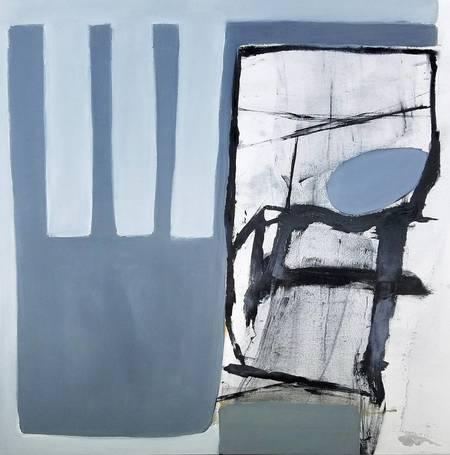 "Alan Taylor Jeffries ""Pentimento"" Oil on Canvas"