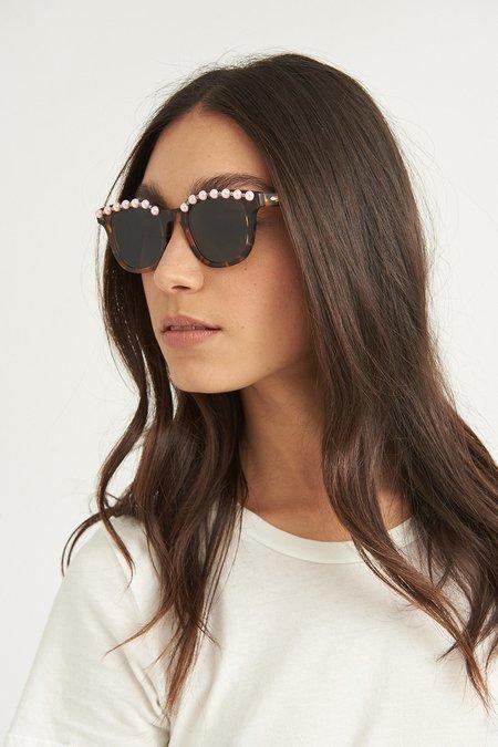 FREDA BANANA Jules Tortoise Sunglasses