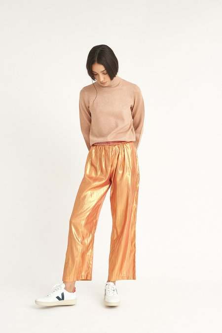 Colorant Rose Gold Noble Pants - Rose Gold