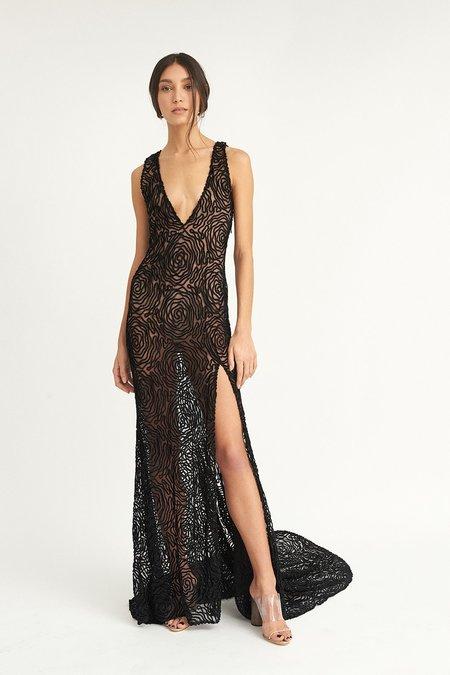 ALEXIA KLEIN Violette Gown - Black