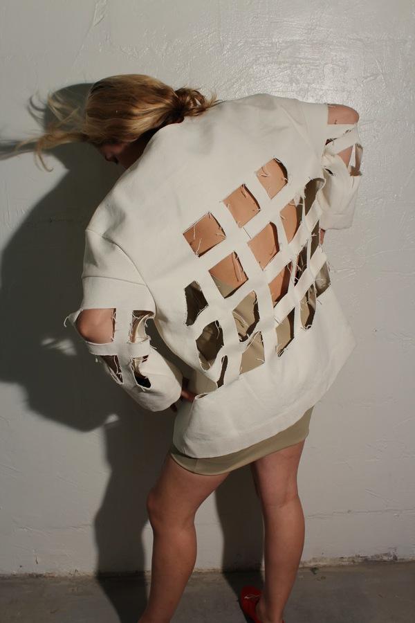 Nancy Stella Soto Cutout Jacket