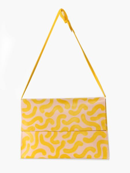 Eatable of Many Orders Lily Folder Bag - Yellow