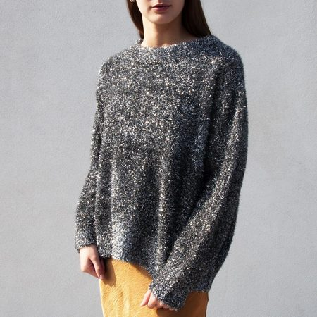 Georgia Alice Sparkle Sweater - Silver