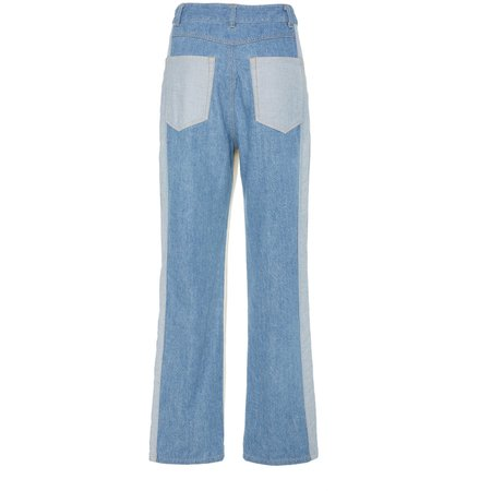 Sea New York Deja Color Blocked Jean - WHITE