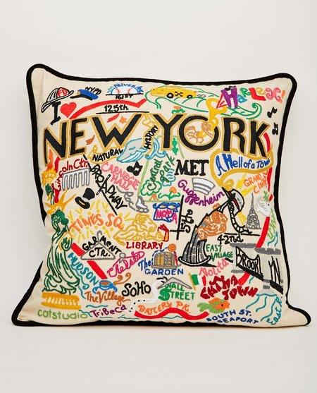 CATSTUDIO NEW YORK PILLOW - CREAM