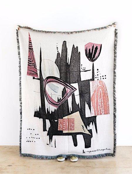 K-Apostrophe Totem Throw Blanket