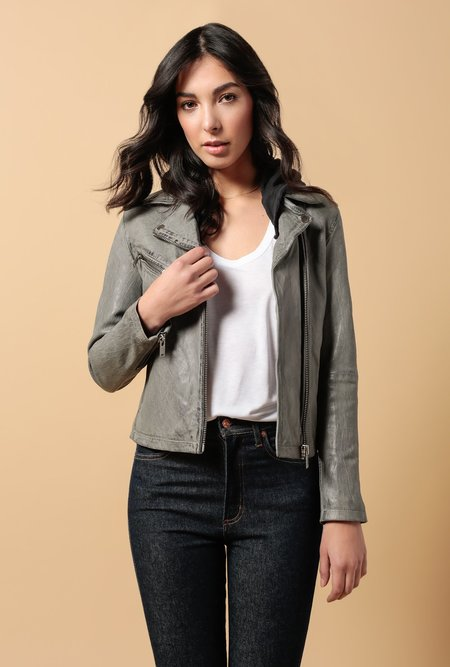 Doma Leather Basic Biker Jacket