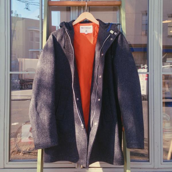 Men's Fidelity by Gerald and Stewart Hooded Wool Stadium Coat