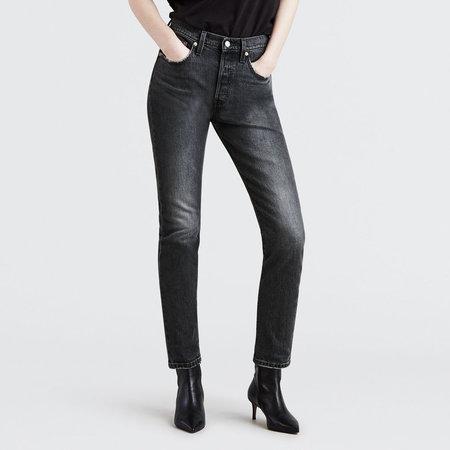 Levi's Premium 501 Skinny - Coal Black