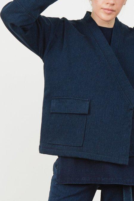 Hemsmith Kitsan Kimono Jacket - Indigo