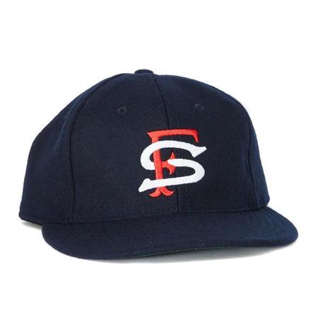 Ebbets Field Flannels San Francisco Seals 1957 Ball Cap - Navy