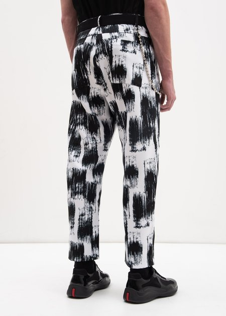 Carson Cartier Printed Trouser w/ Chain - Prints