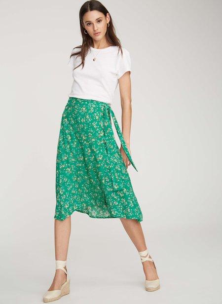 Cloak And Dagger Nyc Faithfull The Brand Valencia Wrap Skirt - Audrey Floral