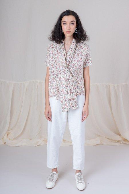 Caron Callahan Julien Top - Floral Print