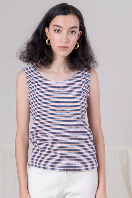 Shop Boswell Vintage Terry Tank - Striped