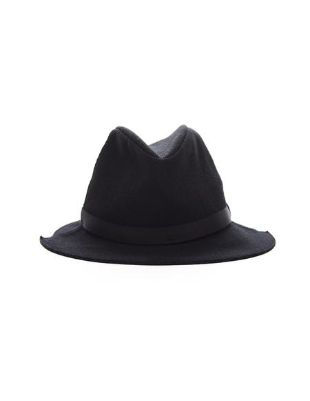 Yohji Yamamoto Wool Hat - Black