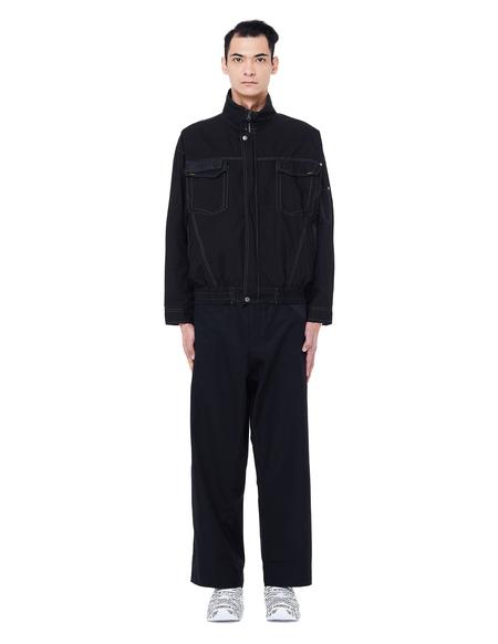 Unisex Blackyoto Cotton Air Jacket - Black