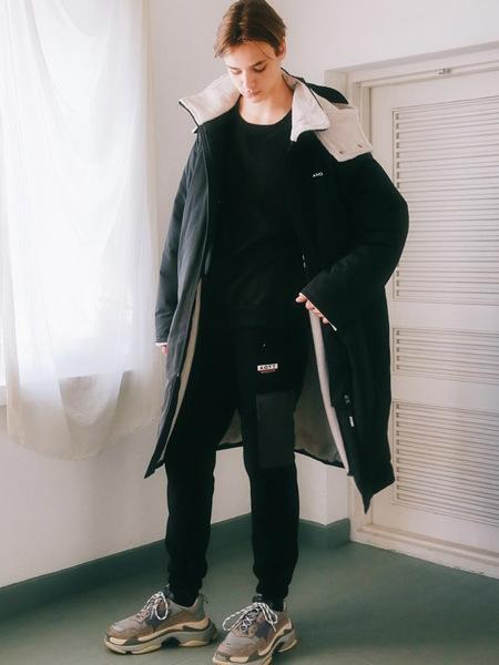 Unisex ANOUTFIT Dumble Long Jumper - Black