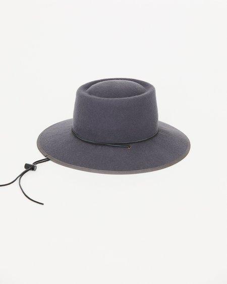 BROOKES BOSWELL ALDERMAN WOOL FELT HAT - GREY