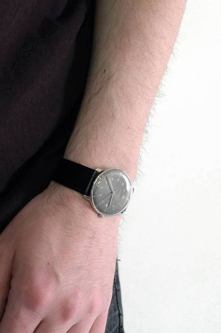 Junghans Max Bill Quartz Watch with Date