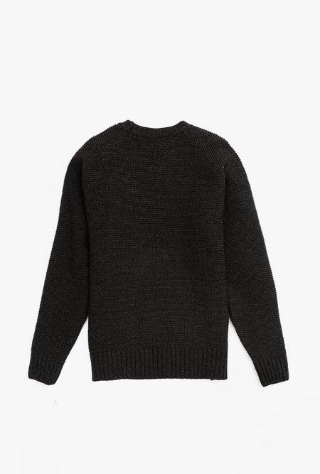 Coltesse Raglan Sweater - Anthracite