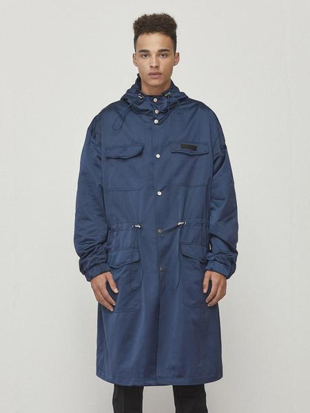 D.Prique Oversized Parka - Navy